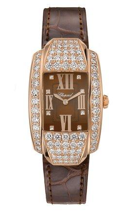 Женские часы la strada CHOPARD коричневого цвета, арт. 419403-5005 | Фото 1