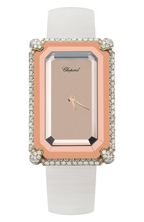 Женские часы golden diamonds CHOPARD медного цвета, арт. 456897-0004 | Фото 1