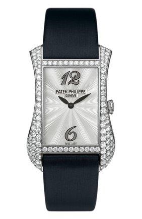 Женские часы gondolo serata PATEK PHILIPPE перламутрового цвета, арт. 4973 G-001 | Фото 1