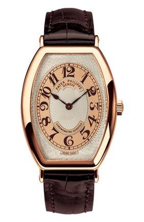 Мужские часы tonneau rose gold PATEK PHILIPPE бесцветного цвета, арт. 5098 R-001 | Фото 1
