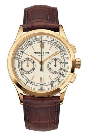 Мужские часы chronograph PATEK PHILIPPE кремвого цвета, арт. 5170 J-001 | Фото 1