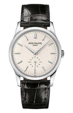 Мужские часы calatrava PATEK PHILIPPE серебряного цвета, арт. 5196 G-001 | Фото 1