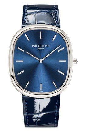 Мужские часы platinum PATEK PHILIPPE синего цвета, арт. 5738 P-001 | Фото 1
