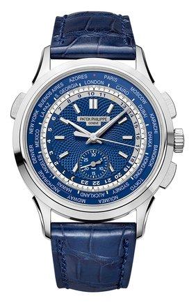 Мужские часы world time PATEK PHILIPPE бесцветного цвета, арт. 5930 G-001 | Фото 1