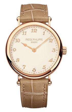 Женские часы calatrava PATEK PHILIPPE белого цвета, арт. 7200 R-001 | Фото 1