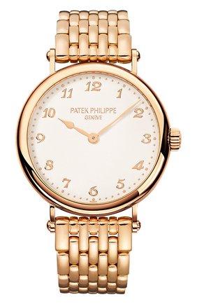 Женские часы calatrava PATEK PHILIPPE белого цвета, арт. 7200/1 R-001   Фото 1