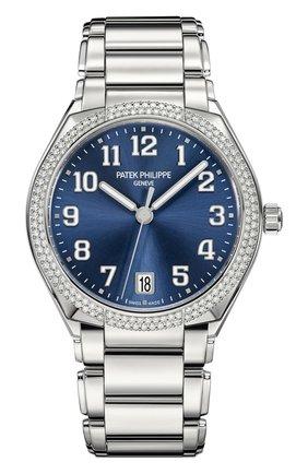 Женские часы twenty-4 automatic PATEK PHILIPPE синего цвета, арт. 7300/1200 A-001 | Фото 1