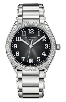 Женские часы twenty-4 automatic PATEK PHILIPPE черного цвета, арт. 7300/1200 A-010 | Фото 1