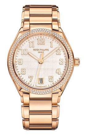 Женские часы twenty-4 automatic PATEK PHILIPPE серебряного цвета, арт. 7300/1200 R-010 | Фото 1