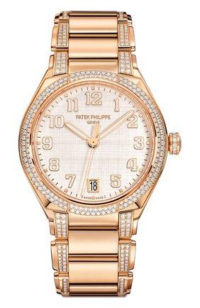 Женские часы twenty-4 automatic PATEK PHILIPPE серебряного цвета, арт. 7300/1201 R-001 | Фото 1