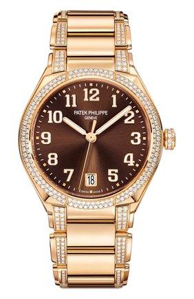 Женские часы twenty-4 automatic PATEK PHILIPPE коричневого цвета, арт. 7300/1201 R-010 | Фото 1