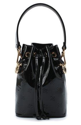 Женская сумка mon tresor FENDI черного цвета, арт. 8BS010 AAFJ | Фото 1