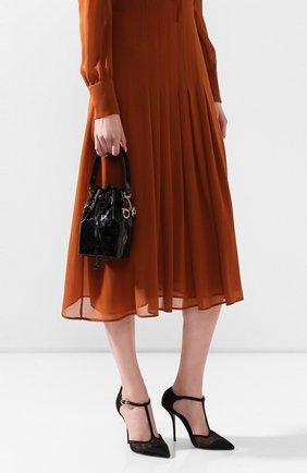 Женская сумка mon tresor FENDI черного цвета, арт. 8BS010 AAFJ | Фото 2