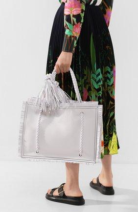 Женская сумка valentino garavani the rope VALENTINO белого цвета, арт. TW0B0G72/JMS | Фото 2