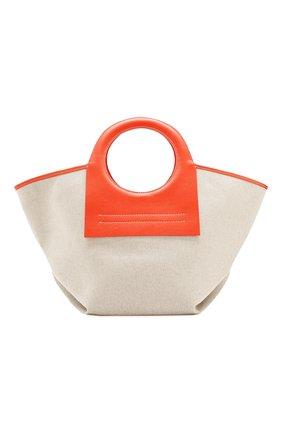 Женская сумка cala small HEREU оранжевого цвета, арт. CALA SMALL/WBR20CALS003 | Фото 1