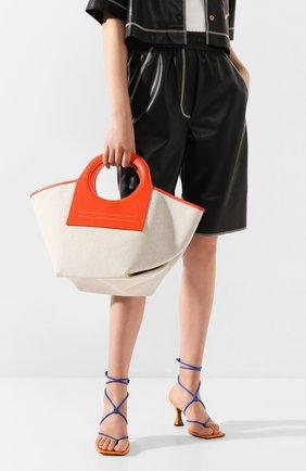 Женская сумка cala small HEREU оранжевого цвета, арт. CALA SMALL/WBR20CALS003 | Фото 2