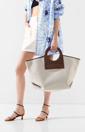 Женская сумка cala HEREU коричневого цвета, арт. CALA/WBR20CALA002 | Фото 2
