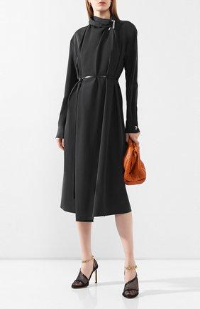 Женская текстильные туфли the new mesh BOTTEGA VENETA черного цвета, арт. 618755/VBPS3 | Фото 2