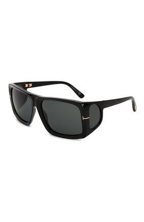 Мужские солнцезащитные очки TOM FORD черного цвета, арт. TF730 | Фото 1