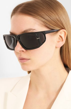 Мужские солнцезащитные очки TOM FORD черного цвета, арт. TF730 | Фото 2