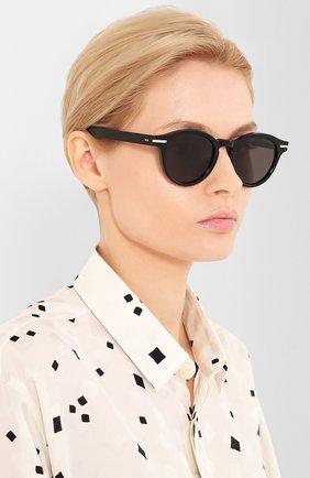 Женские солнцезащитные очки CUTLERANDGROSS черного цвета, арт. 133801 | Фото 2