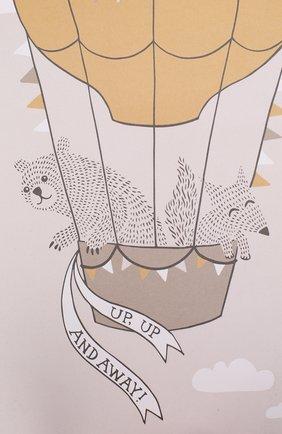 Детского постер BLOOMINGVILLE коричневого цвета, арт. 95148423 | Фото 2