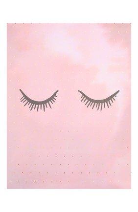 Детского постер BLOOMINGVILLE розового цвета, арт. 95149880 | Фото 1