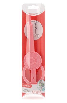 Детского держатель для сосок и бутылочек MOMBELLA розового цвета, арт. 8080-1 | Фото 1