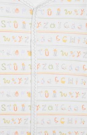 Детский хлопковая сорочка KISSY KISSY разноцветного цвета, арт. KNW04165N | Фото 3