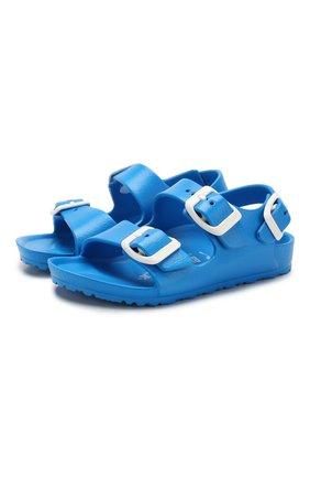 Детские сандалии BIRKENSTOCK синего цвета, арт. 1009355/24-35   Фото 1