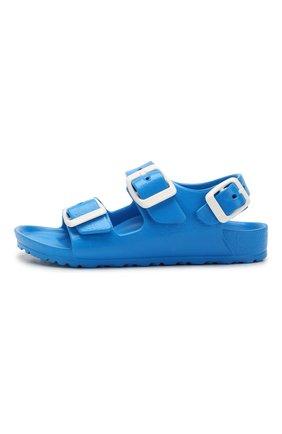 Детские сандалии BIRKENSTOCK синего цвета, арт. 1009355/24-35   Фото 2