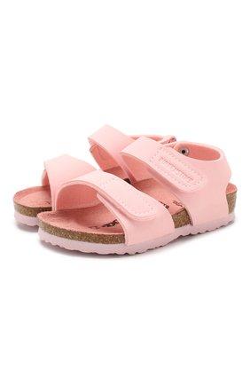 Детские босоножки BIRKENSTOCK розового цвета, арт. 1015408/24-35   Фото 1