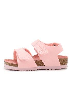 Детские босоножки BIRKENSTOCK розового цвета, арт. 1015408/24-35   Фото 2