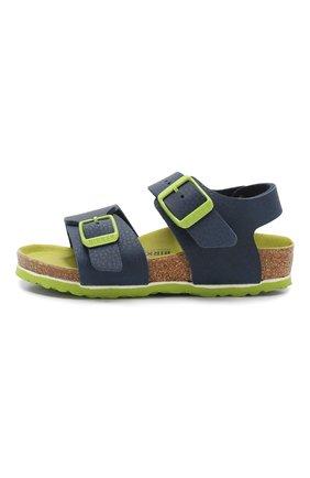 Детские сандалии BIRKENSTOCK синего цвета, арт. 1015755/24-35 | Фото 2