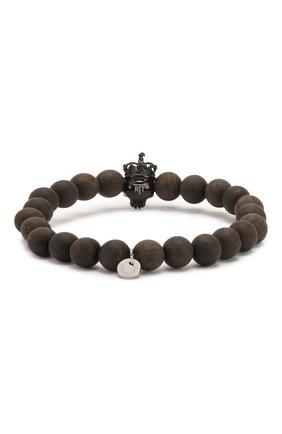 Мужской браслет TATEOSSIAN черного цвета, арт. BL8027 | Фото 2