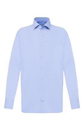 Мужская хлопковая сорочка VAN LAACK голубого цвета, арт. RIVARA-TFN/151775 | Фото 1