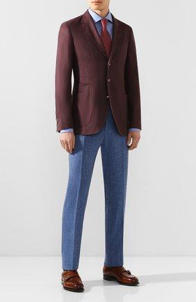 Мужская хлопковая сорочка VAN LAACK голубого цвета, арт. RIVARA-TFN/151775 | Фото 2