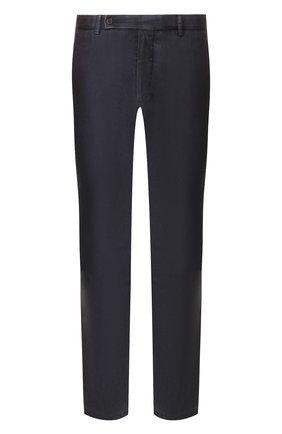 Мужской шерстяные брюки BERWICH темно-синего цвета, арт. SC/1/MZ0260B | Фото 1