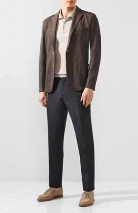 Пиджак из смеси льна и хлопка   Фото №2