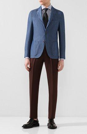 Мужская хлопковая сорочка VAN LAACK синего цвета, арт. RIVARA-SFN/151778 | Фото 2