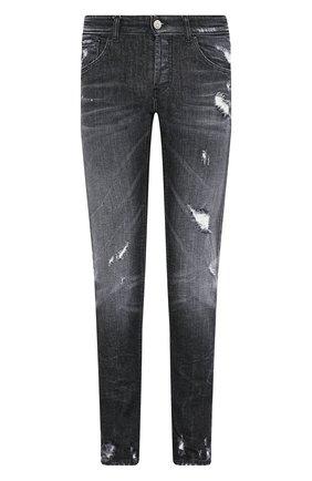Мужские джинсы PREMIUM MOOD DENIM SUPERIOR темно-серого цвета, арт. S20 0310351641/PAUL | Фото 1