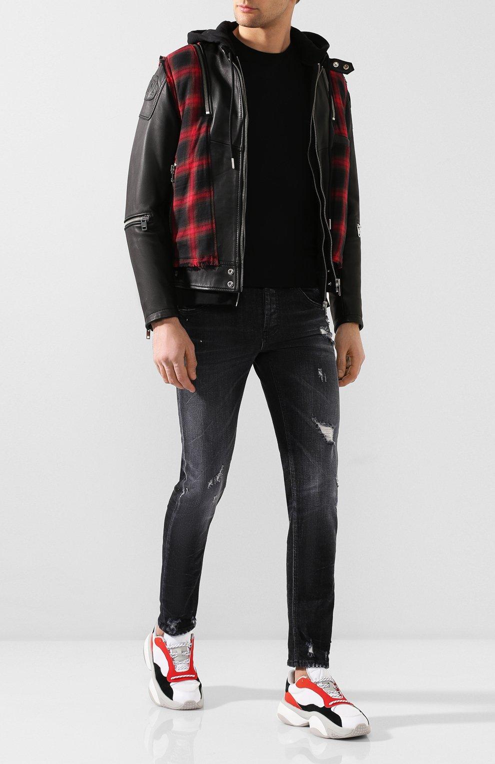 Мужские джинсы PREMIUM MOOD DENIM SUPERIOR темно-серого цвета, арт. S20 0310351641/PAUL | Фото 2