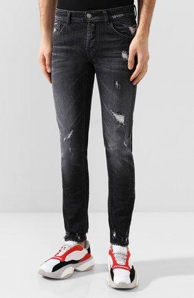 Мужские джинсы PREMIUM MOOD DENIM SUPERIOR темно-серого цвета, арт. S20 0310351641/PAUL | Фото 3
