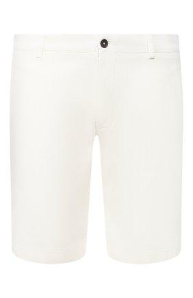 Мужские хлопковые шорты BERWICH белого цвета, арт. BER_MUDA/TS0001X | Фото 1