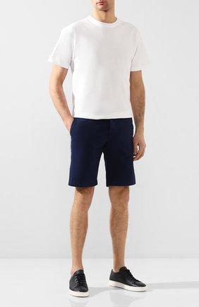 Мужские хлопковые шорты BERWICH синего цвета, арт. BER_MUDA/TS0001X | Фото 2