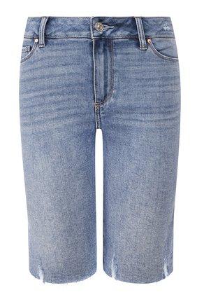 Женские джинсовые шорты PAIGE синего цвета, арт. 5247F72-7641 | Фото 1