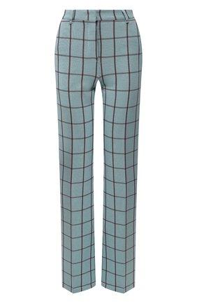 Женские брюки M MISSONI бирюзового цвета, арт. 2DI00117/2J001P | Фото 1