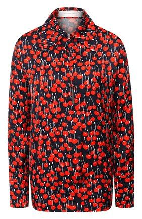Женская рубашка из вискозы VICTORIA, VICTORIA BECKHAM разноцветного цвета, арт. 2120WSH000525A | Фото 1