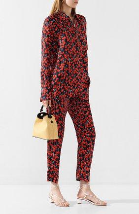 Женская рубашка из вискозы VICTORIA, VICTORIA BECKHAM разноцветного цвета, арт. 2120WSH000525A | Фото 2