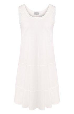 Женская хлопковая сорочка GIANANTONIO PALADINI белого цвета, арт. S050C04/S | Фото 1